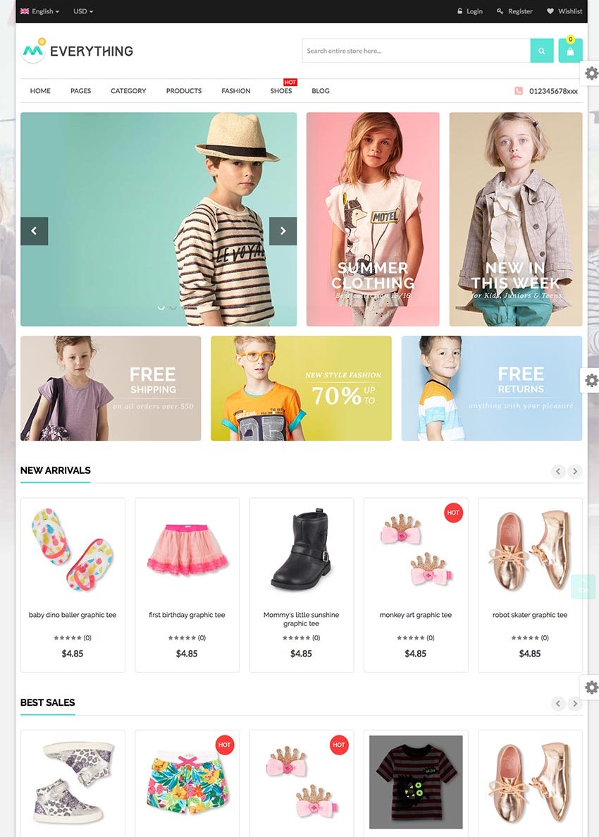 Everything - 2016 Creative Magento Fashion Store Template
