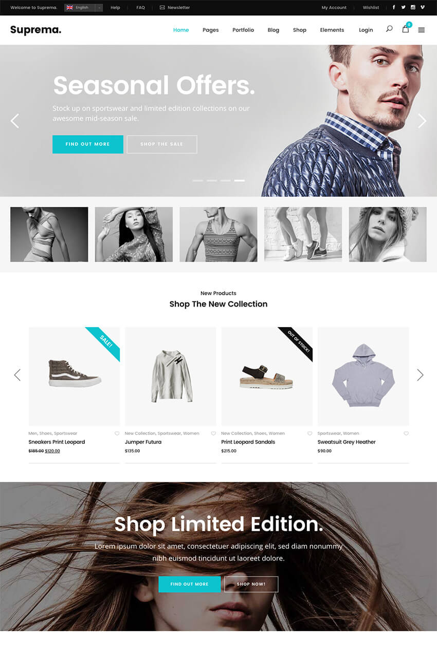 eCommerce Online Store Theme