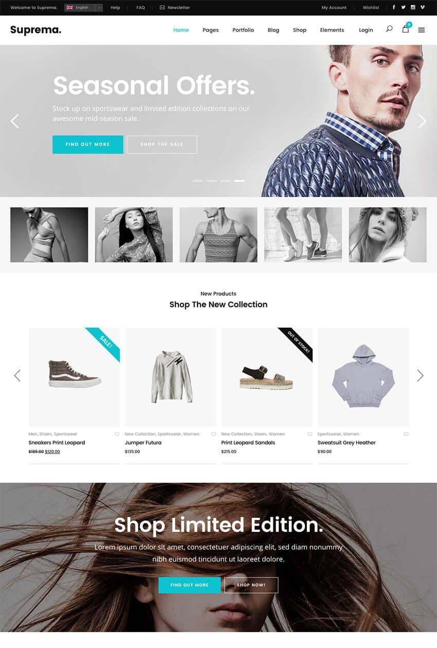 Tema de WooCommerce para tienda online