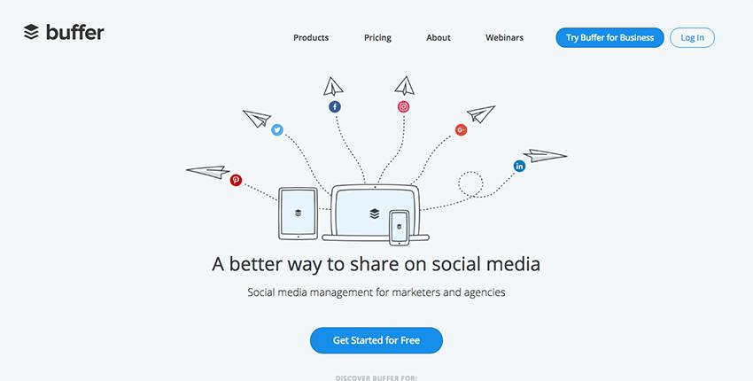 Herramientas Social Media buffer