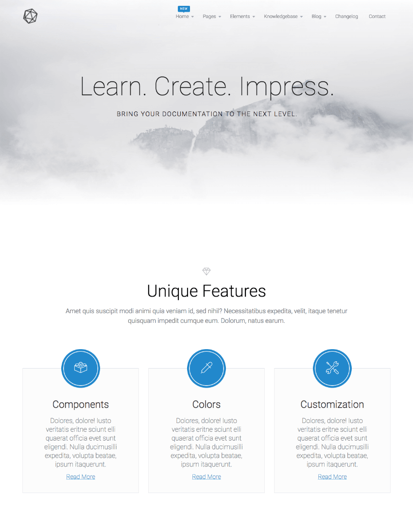 VSDocs Advanced Documentation WordPress Wiki Theme
