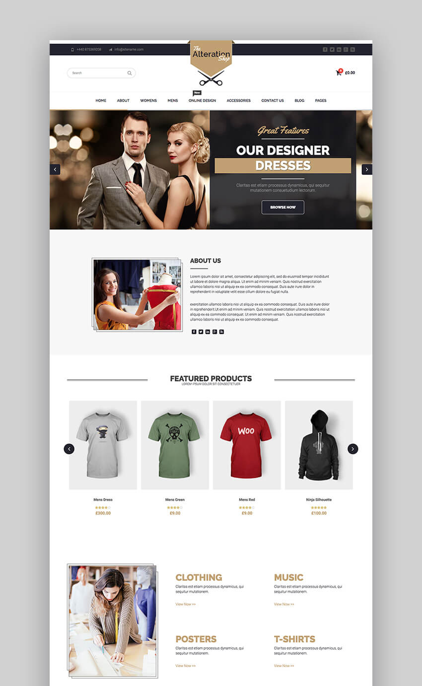Best fashion wordpress theme 41
