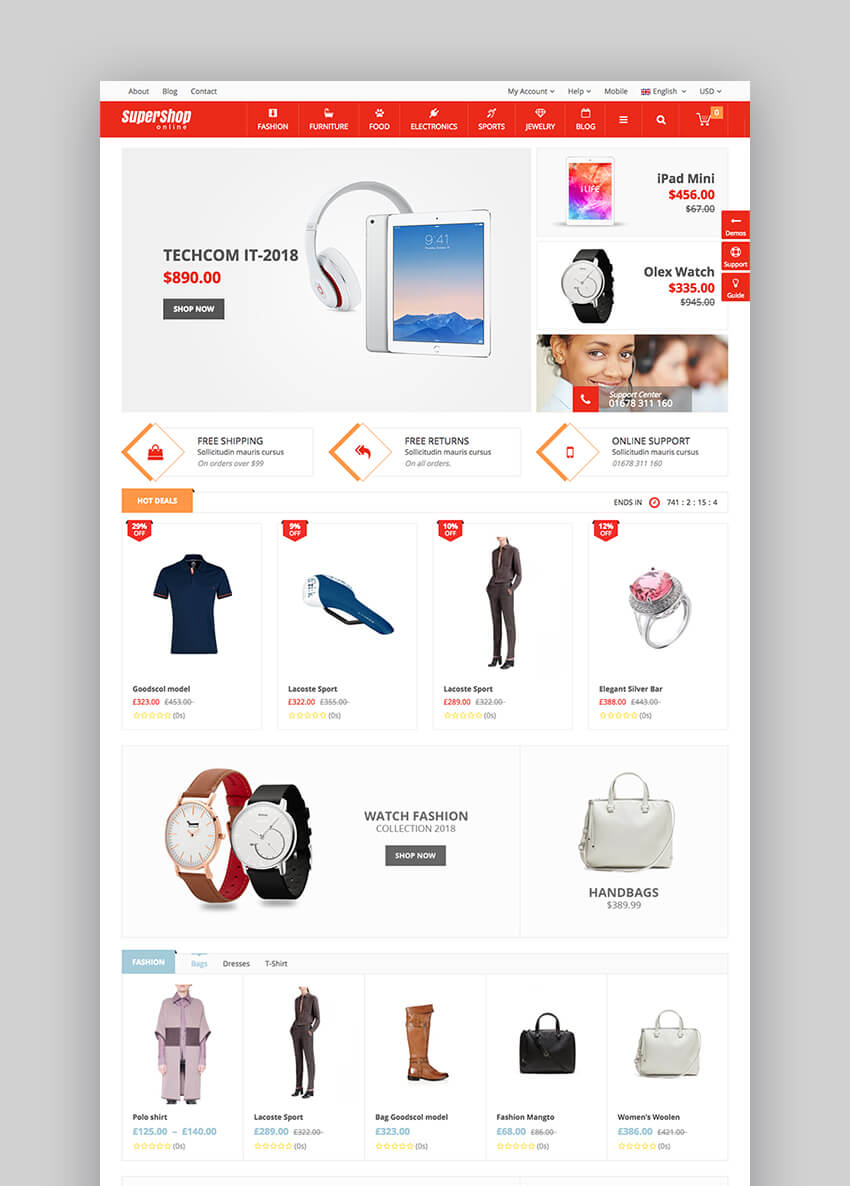 18+ Best eCommerce WordPress Themes for 2018