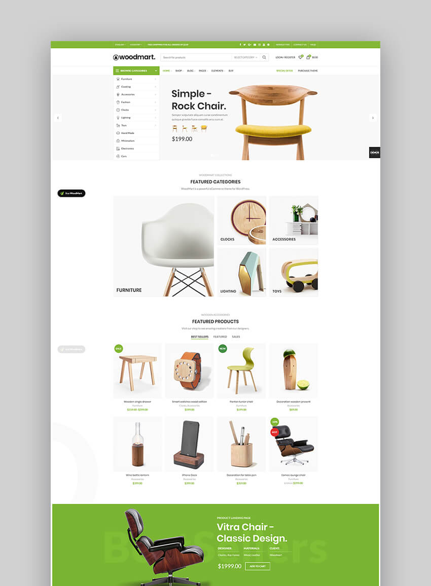 Woodmart eCommerce theme
