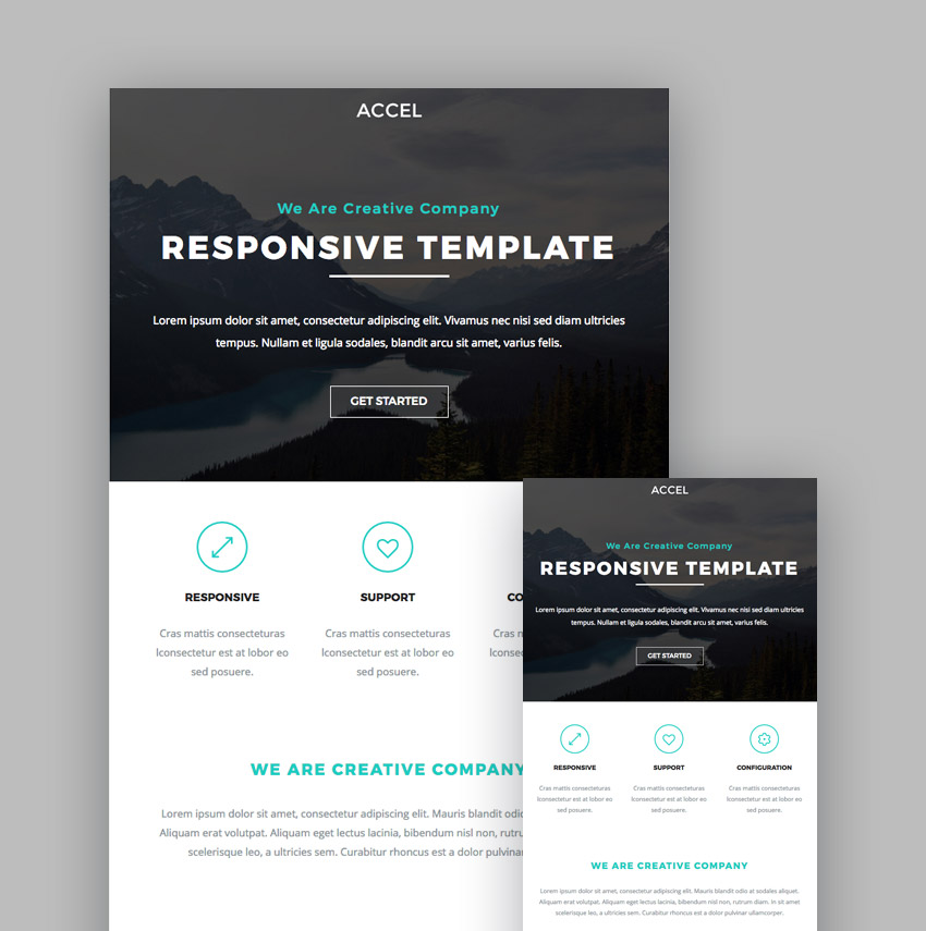 Best MailChimp Responsive Email Templates For Newsletters - Mailchimp template tags