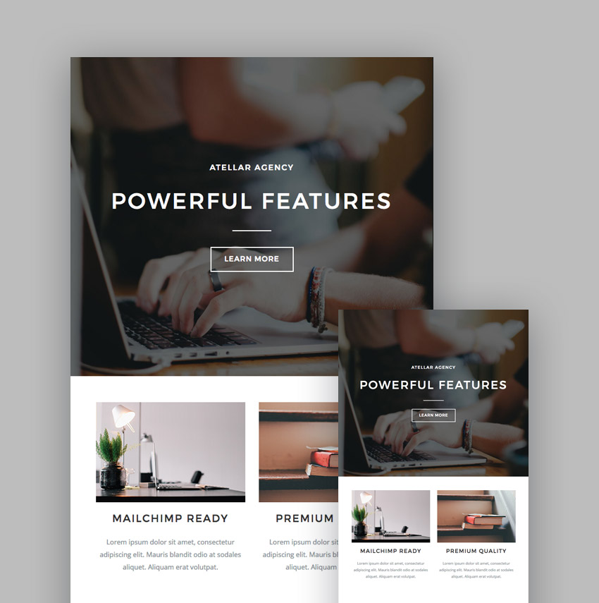 Atellar Multipurpose template