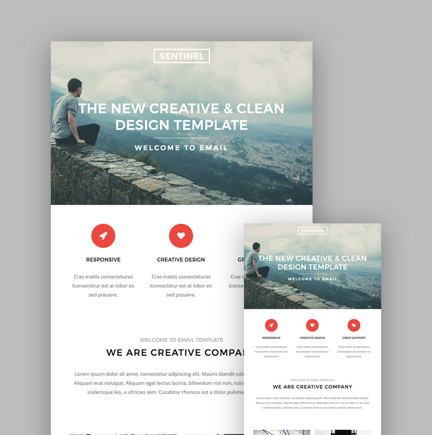 Best MailChimp Responsive Email Templates For Newsletters - Mailchimp template ideas