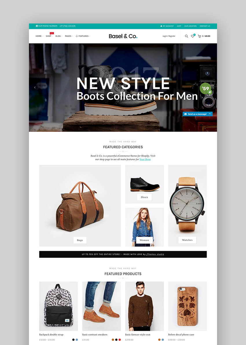 Best Shopify Themes With Responsive Designs For - Shopify page templates