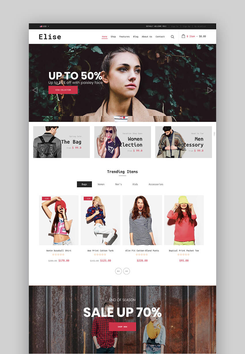 18+ Best Shopify Themes With Responsive Designs for 2018