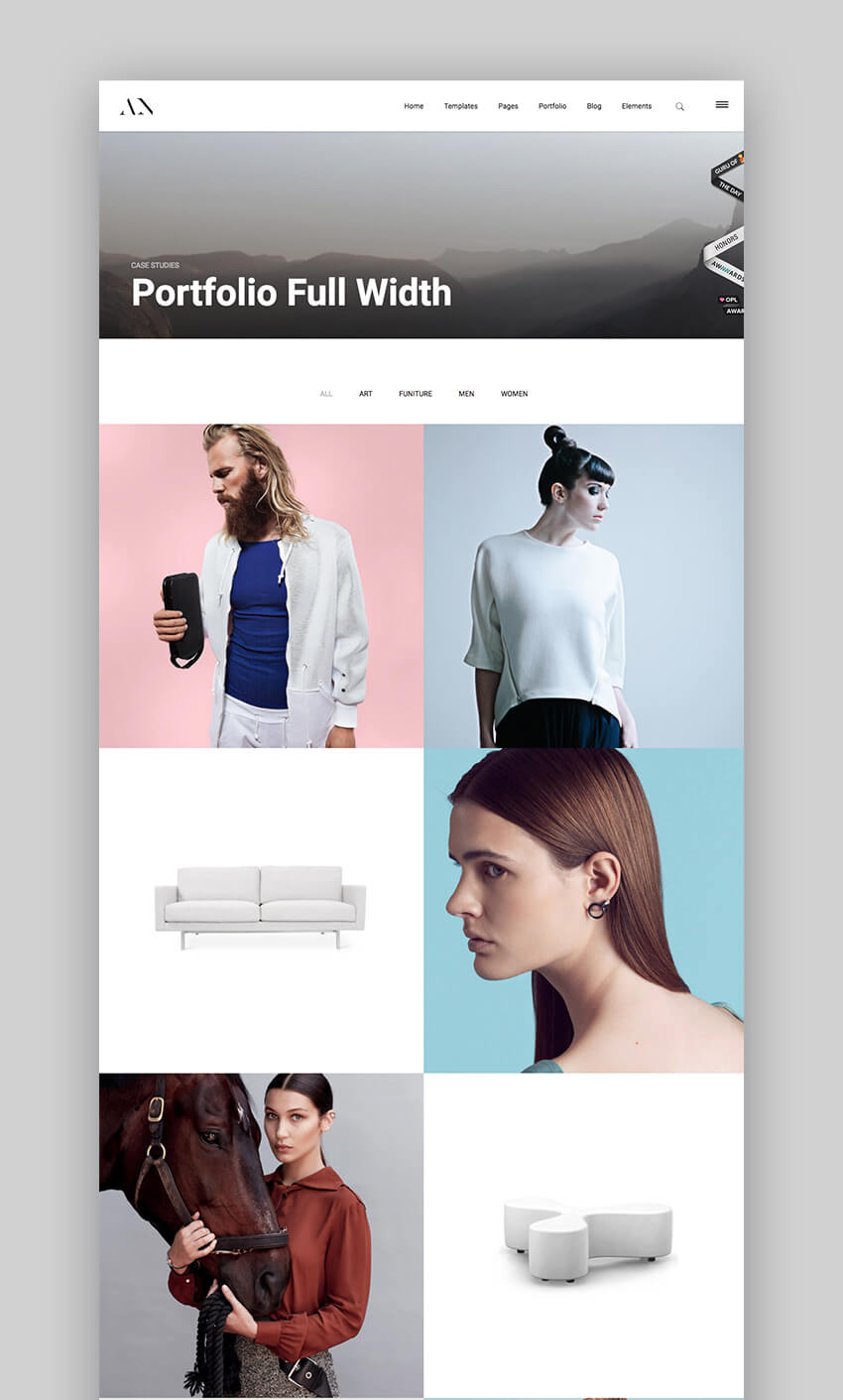Animo Photography WordPress Theme