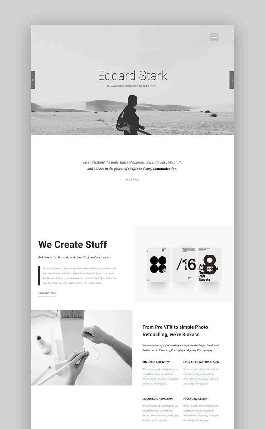 Kora Creative Photography Theme