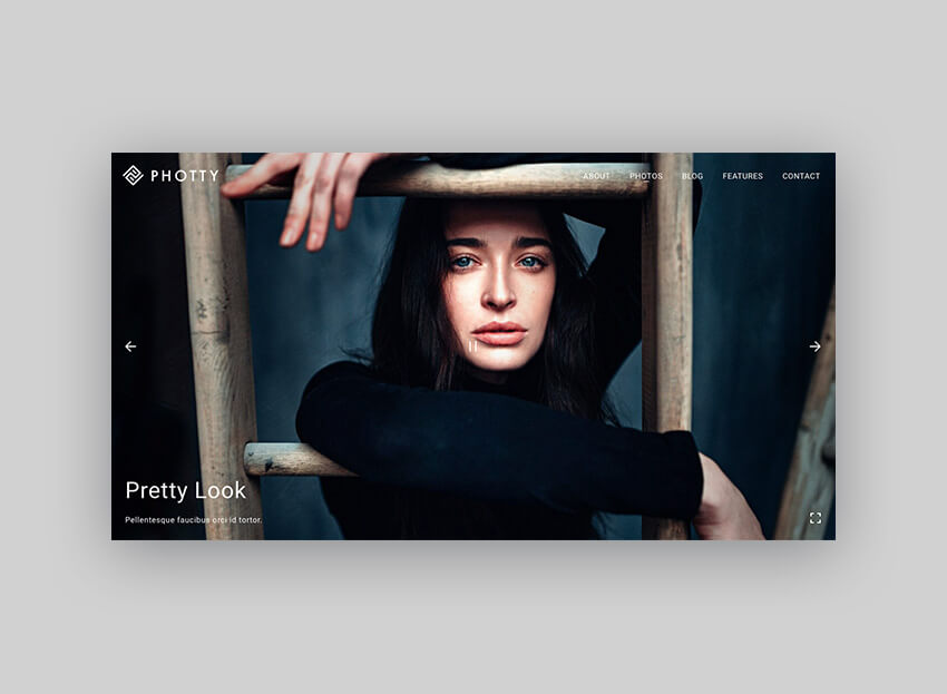Photty Photography WordPress Theme