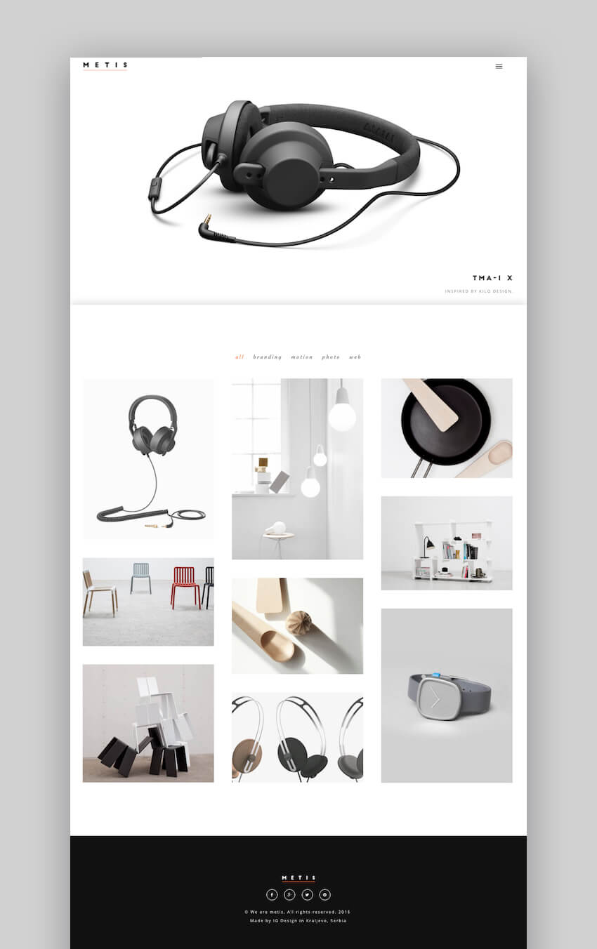 Metis portfolio and agency theme