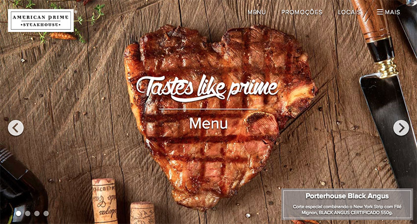 American Prime Steakhouse website
