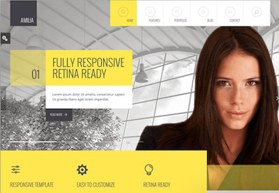 20 best responsive html5 website design business templates friedricerecipe Choice Image