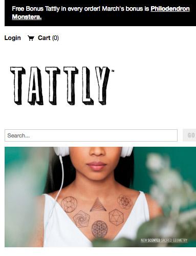 Tattly mobile