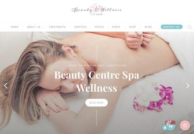 Spa beauty theme preview
