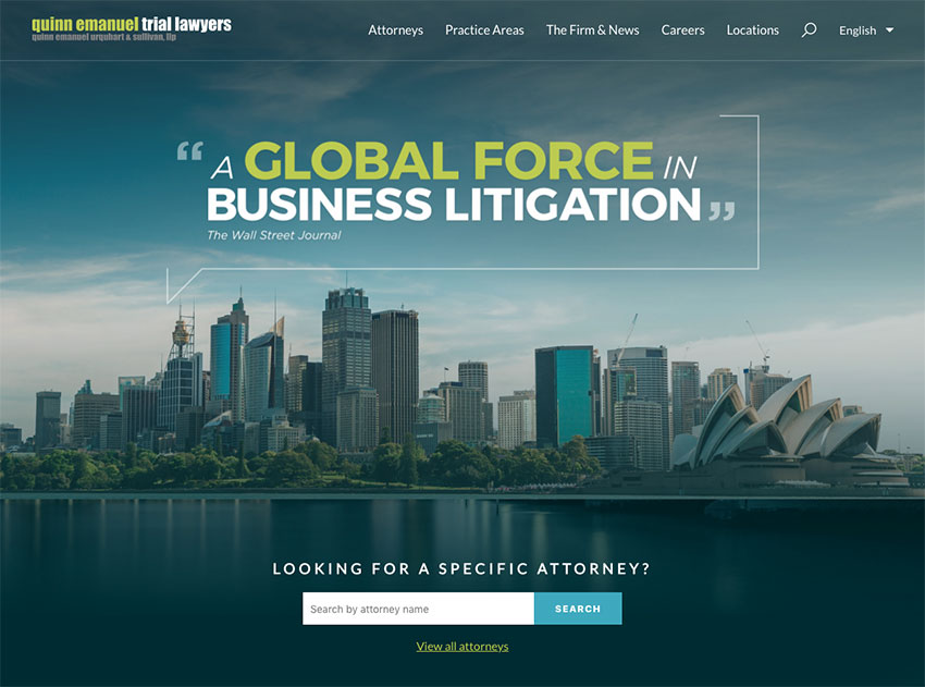 20+ Best Law Firm Website Designs: Inspiration for Lawyers & Attorneys