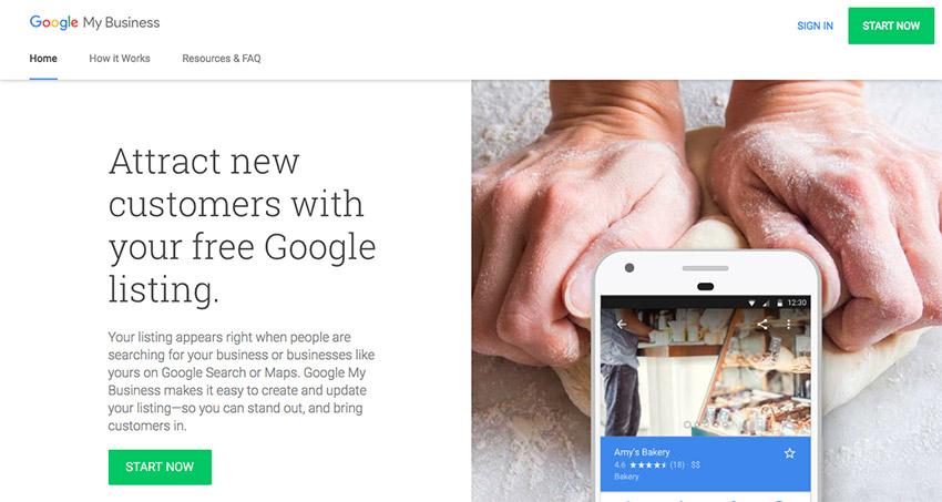 how to use google my business api