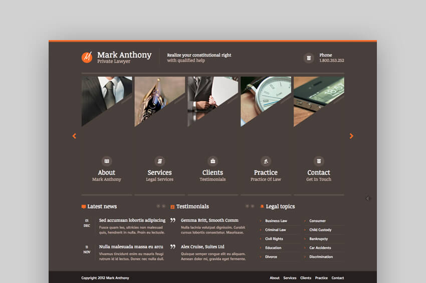 Themis corporate lawyer template