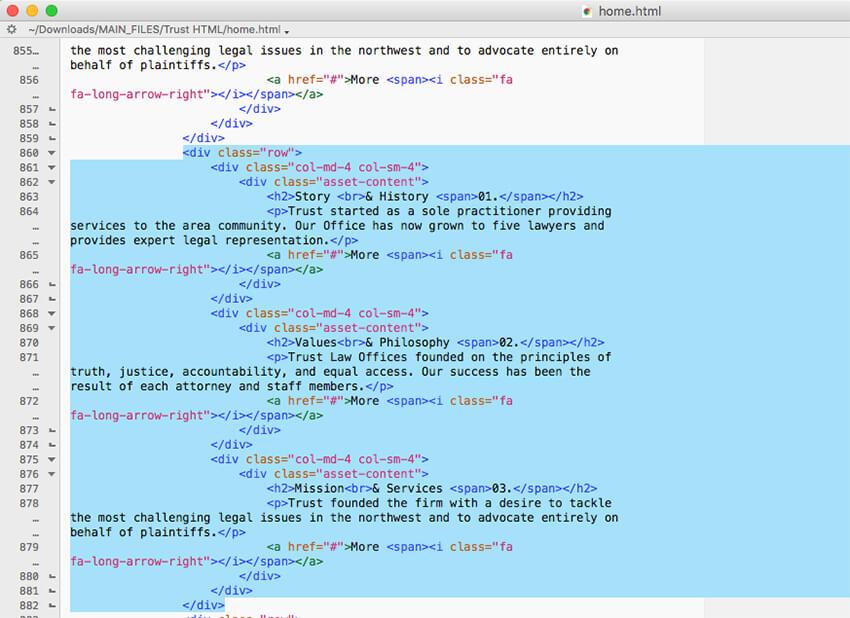 Duplicated code
