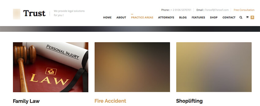 How to Design Law Firm Websites With Responsive HTML Templates