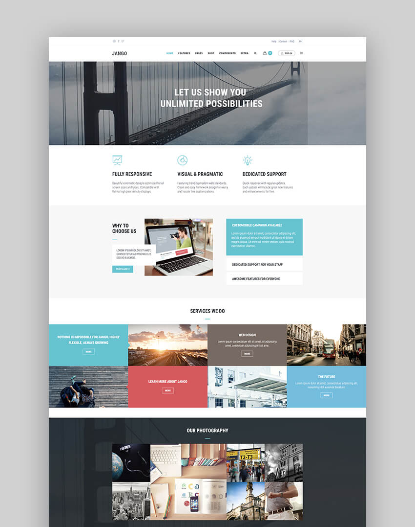25 Best Free Drupal 7 8 Cms Themes To Make Sites 2018