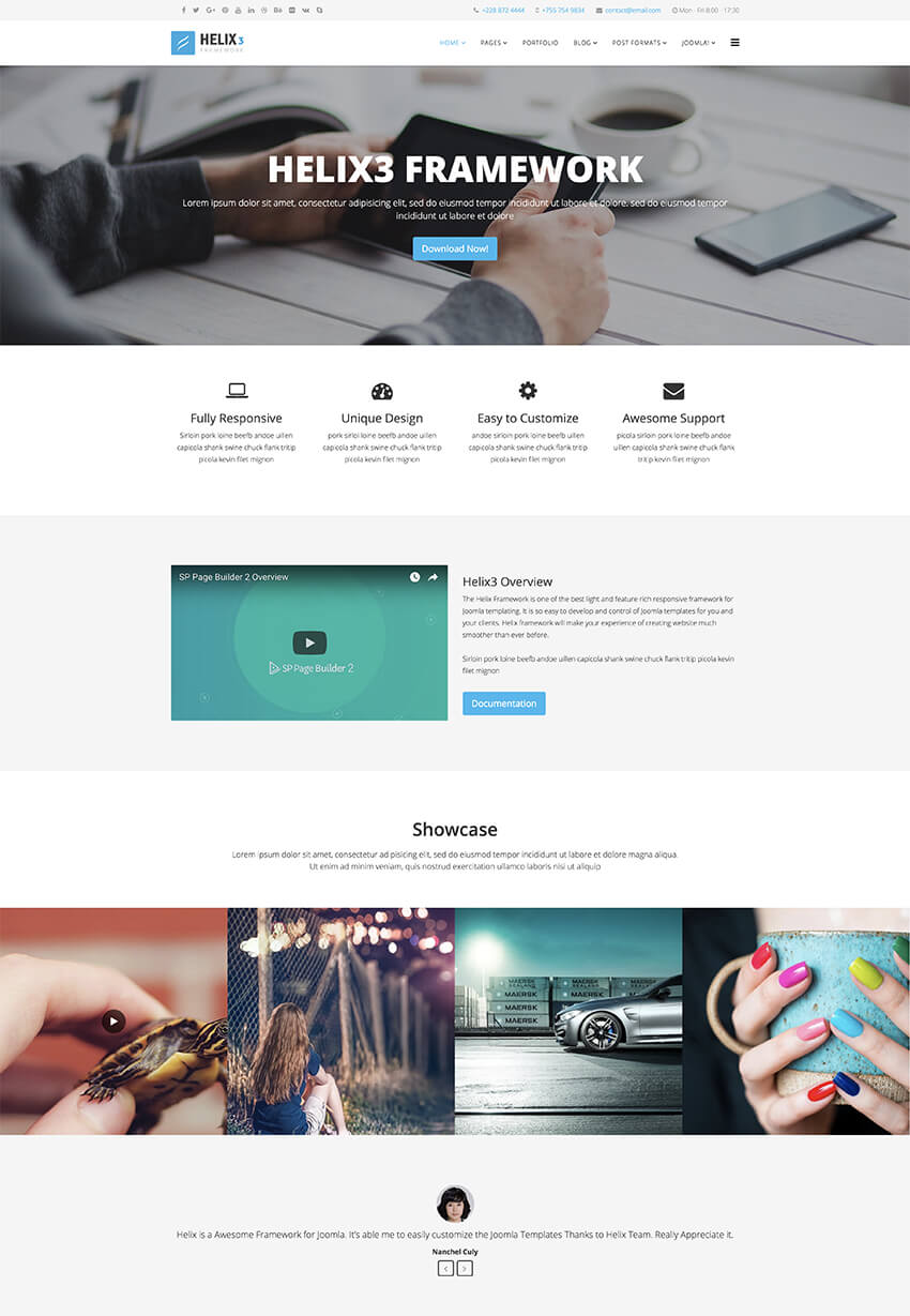 25+ Top Free Responsive Joomla CMS Templates to Download (2018)