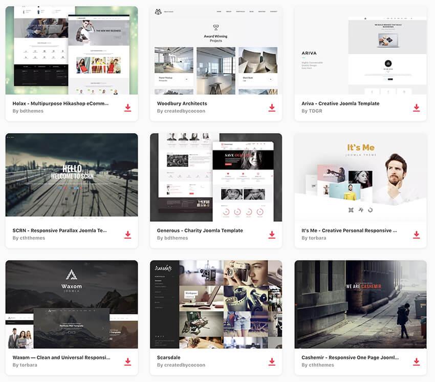 25 Top Free Responsive Joomla Cms Templates To Download 2018