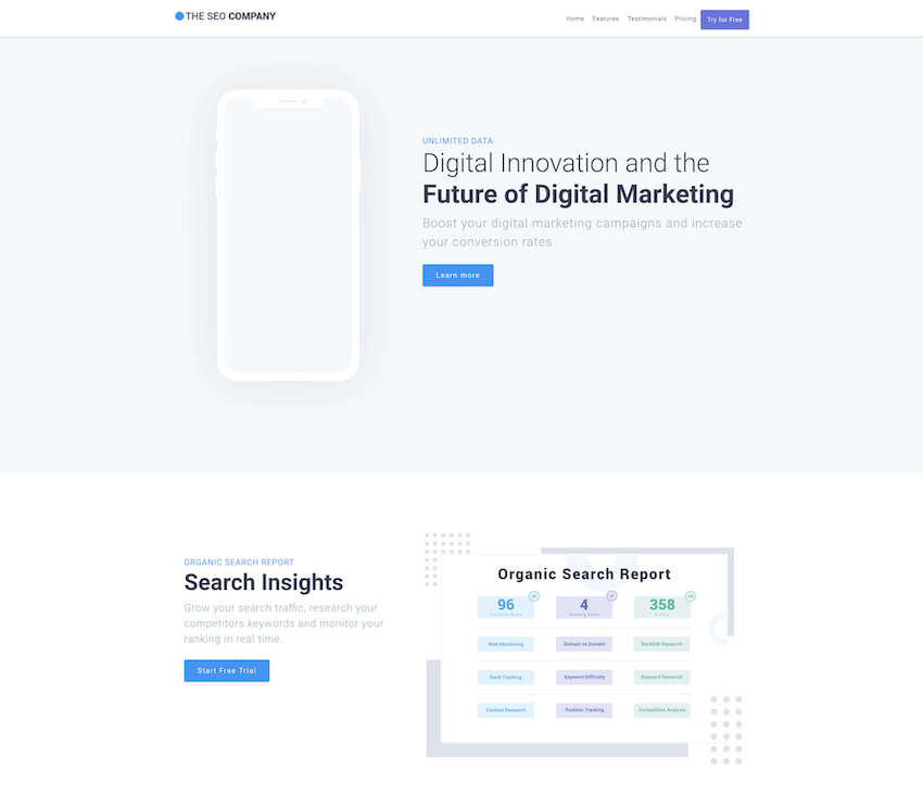 25+ Best Free (Splash) Landing Page Templates for 2019
