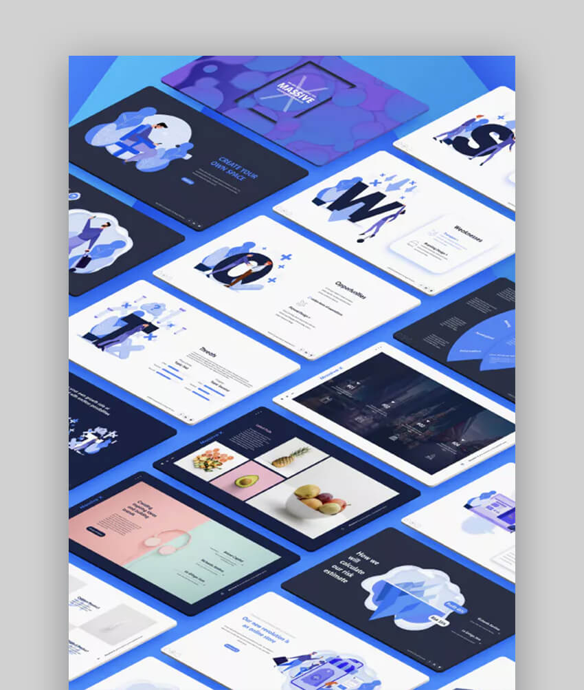 Massive X Great Modern Presentation template