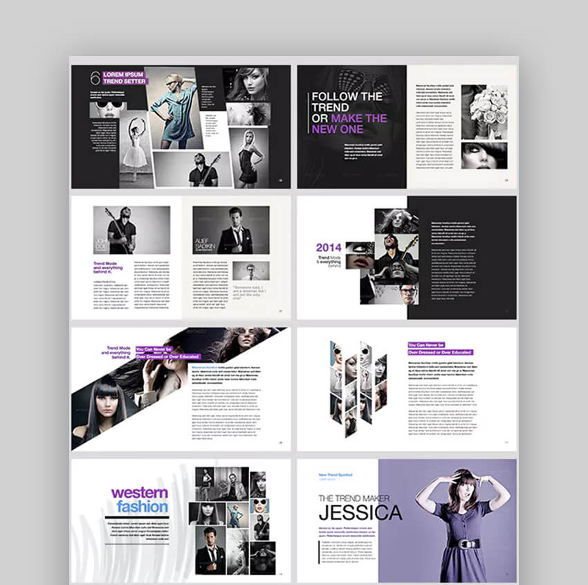 Moda effective PowerPoint Template