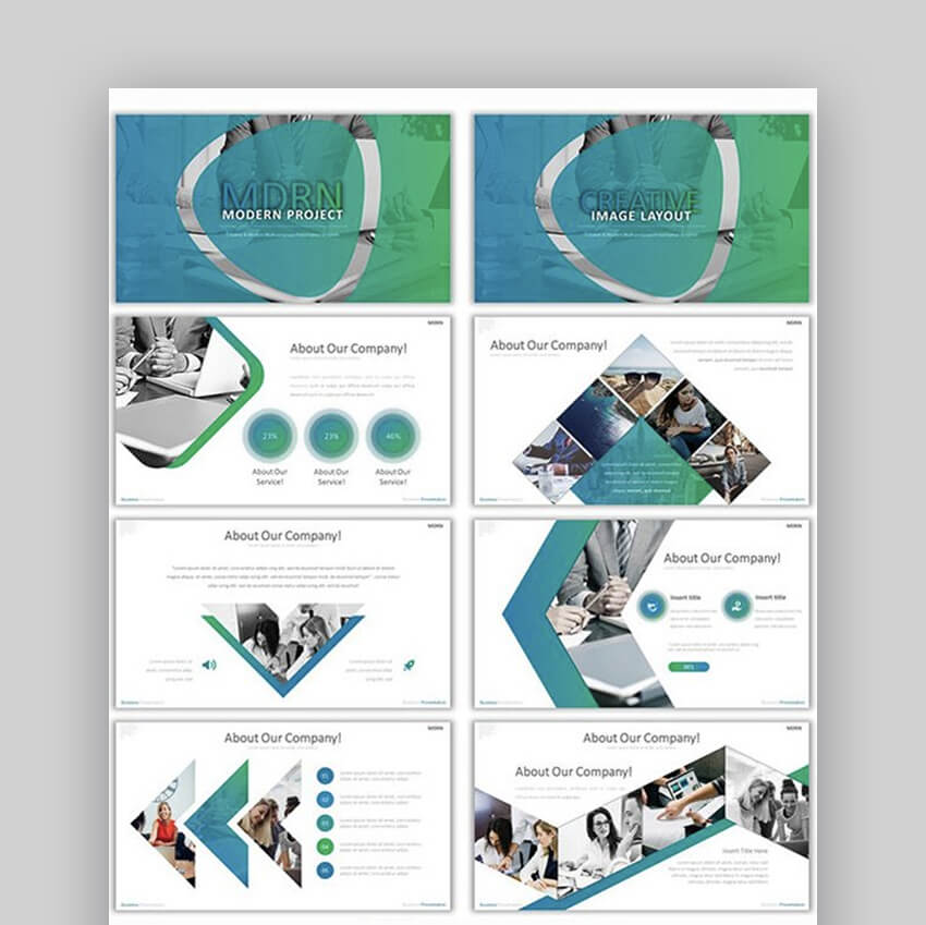 20 Modern Powerpoint Templates To Design Presentations In 2019