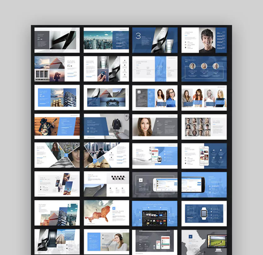 Modern PowerPoint professional template