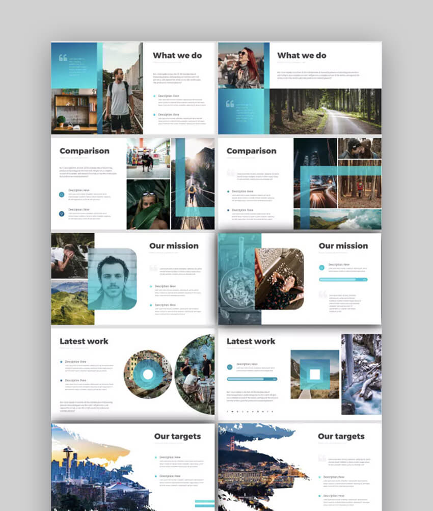 Modern Strategy stylish modern PowerPoint Presentation Template