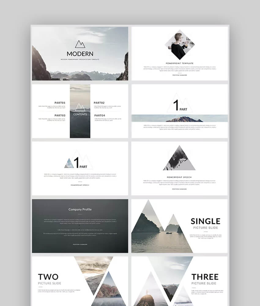 Modern Amazing PowerPoint Template