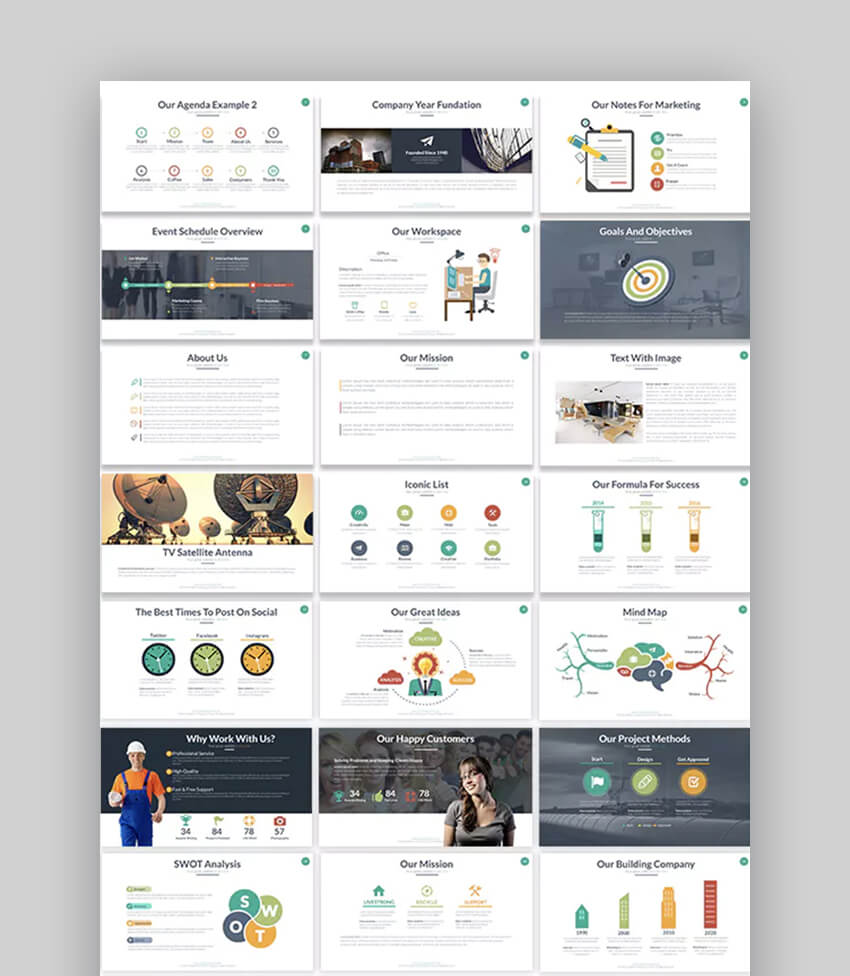 Motagua Multipurpose Modern PowerPoint Template