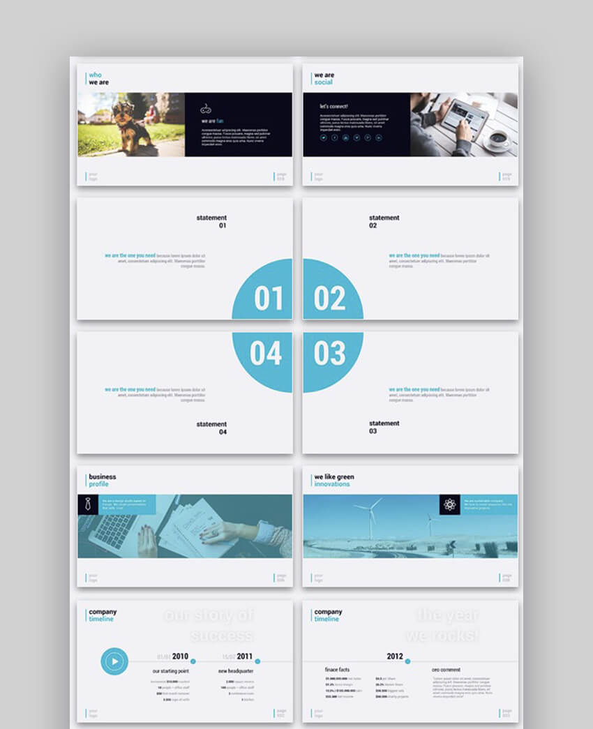Simplicity Simple Modern PowerPoint Template