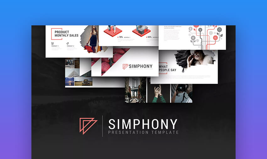 Simphony Powerpoint template