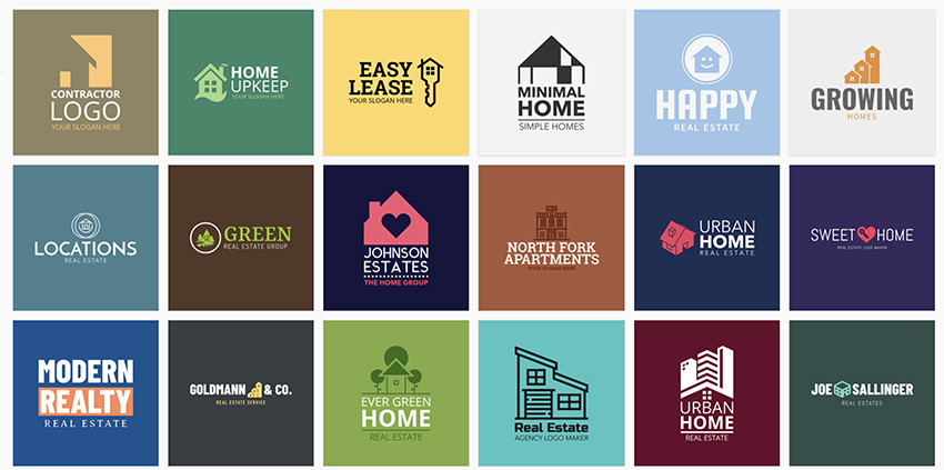 Placeit Real Estate Logo Templates