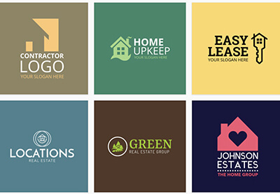 20 Best Real Estate Agent & Company Logo Designs (Ideas ...