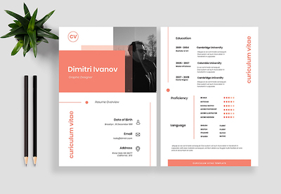 Resume templates preview