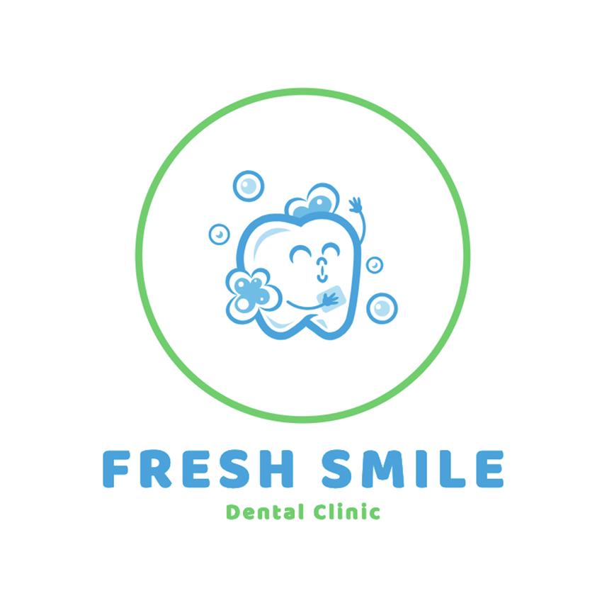 Dental Clinic Logo Template