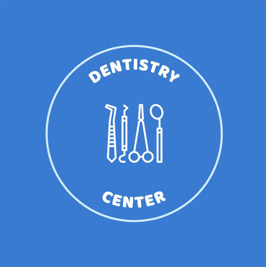 Dentistry Online Logo Template