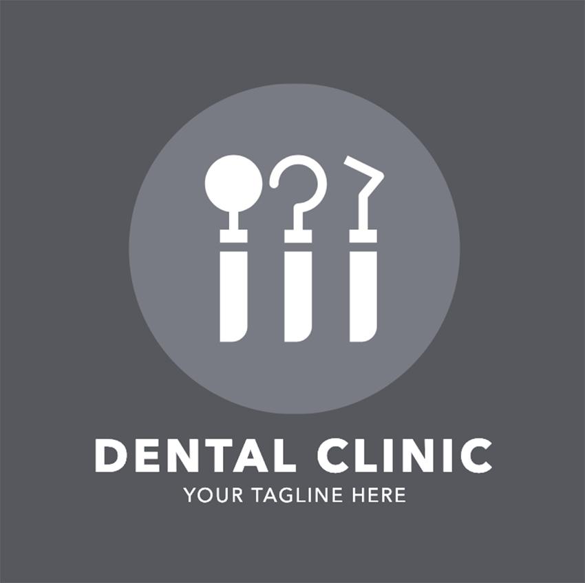Logo Maker for a Dental Clinic