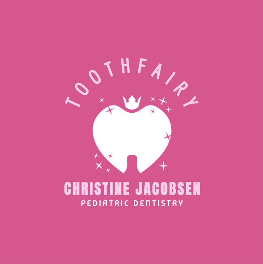 Pediatric Dentistry Logo Maker with Cute Teeth Graphics