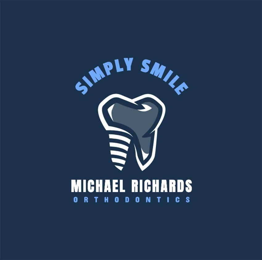 Simple Dentistry Logo Design Template
