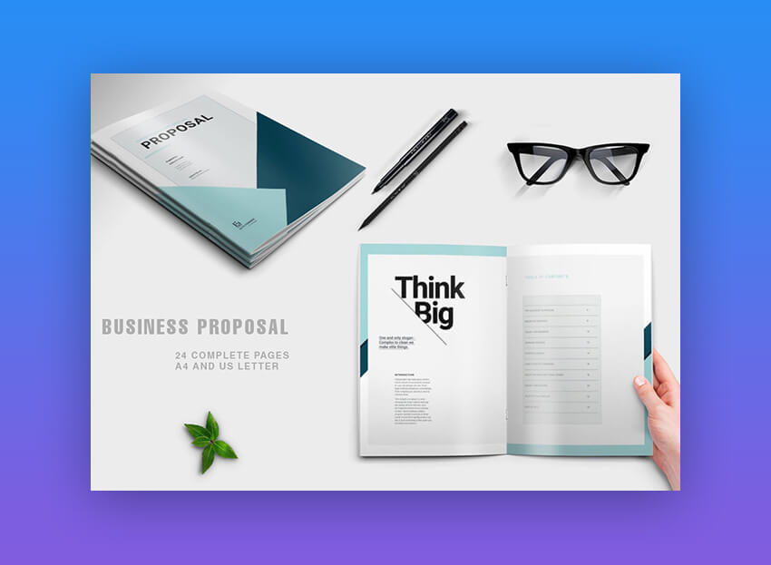 Proposal Modern Business Template