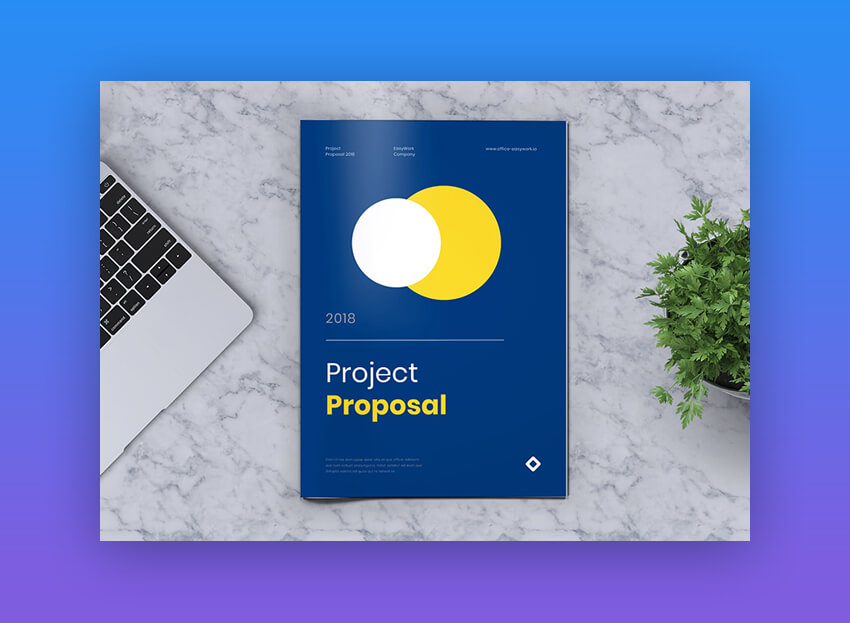 Easy Work - Bold Business Proposal Template