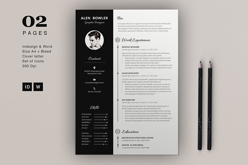 25 Cool Colorful Resume Templates To Stand Out Creatively
